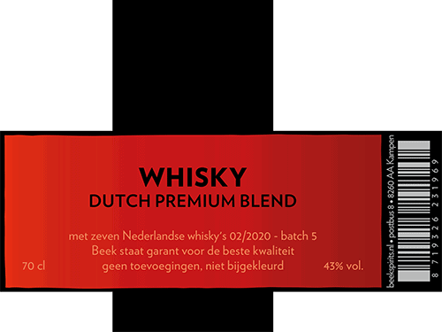 Beek Whisky Dutch Premium Blend batch 5