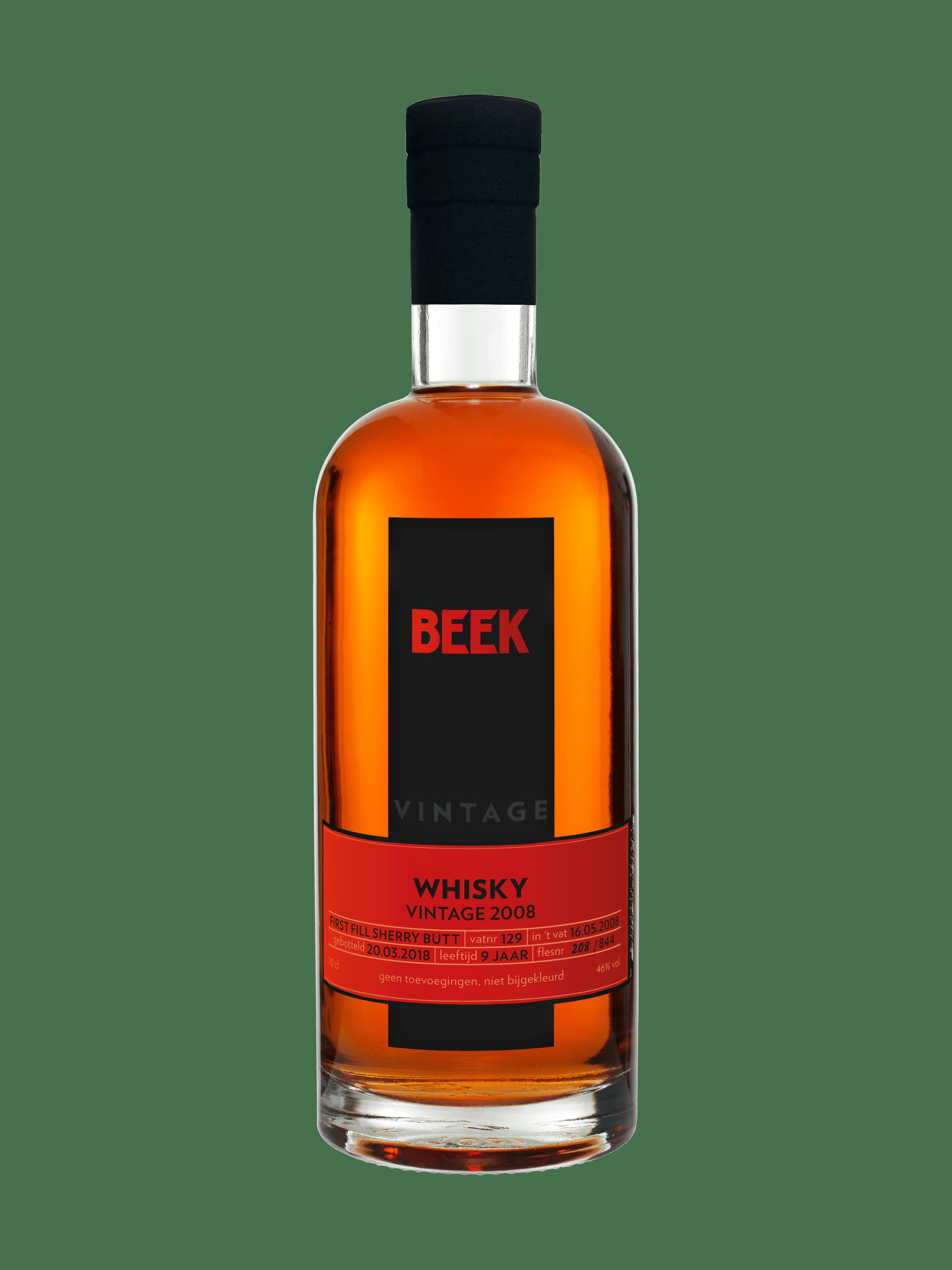BEEK Whisky Vintage uit 2008