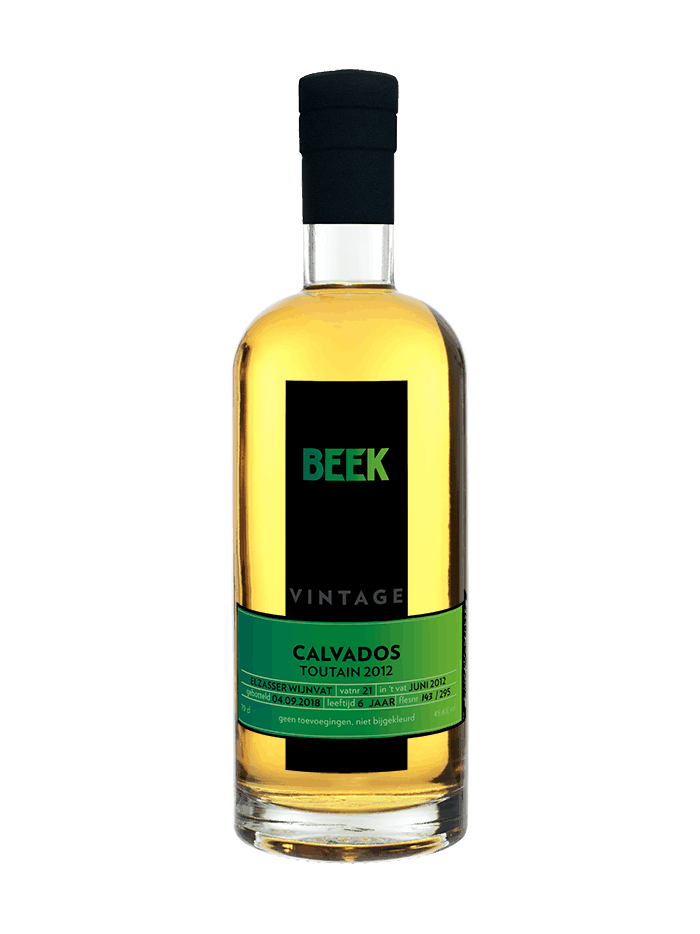 BEEK Vintage Calvados Toutain 2012