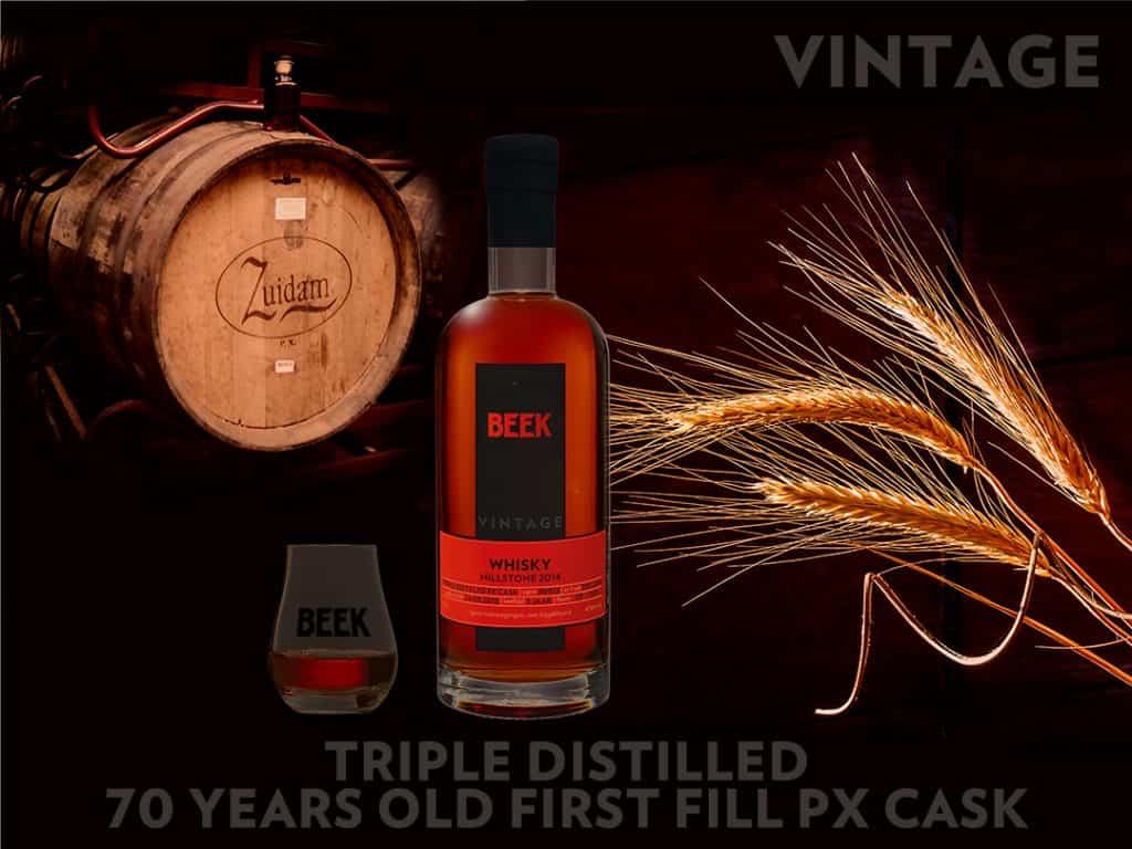 BEEK Vintage Whisky Millstone 2014 Triple Distilled PX Cask