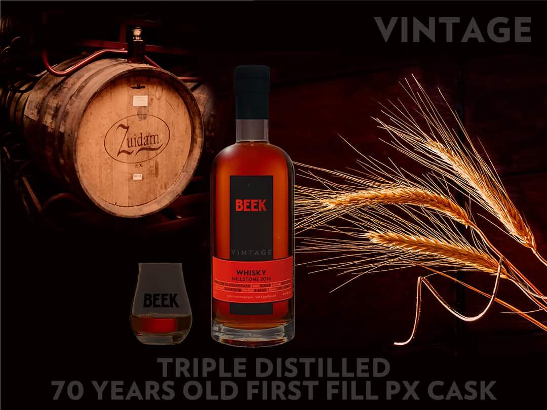 Primeur: Millstone 2014 Triple Distilled PX gebotteld