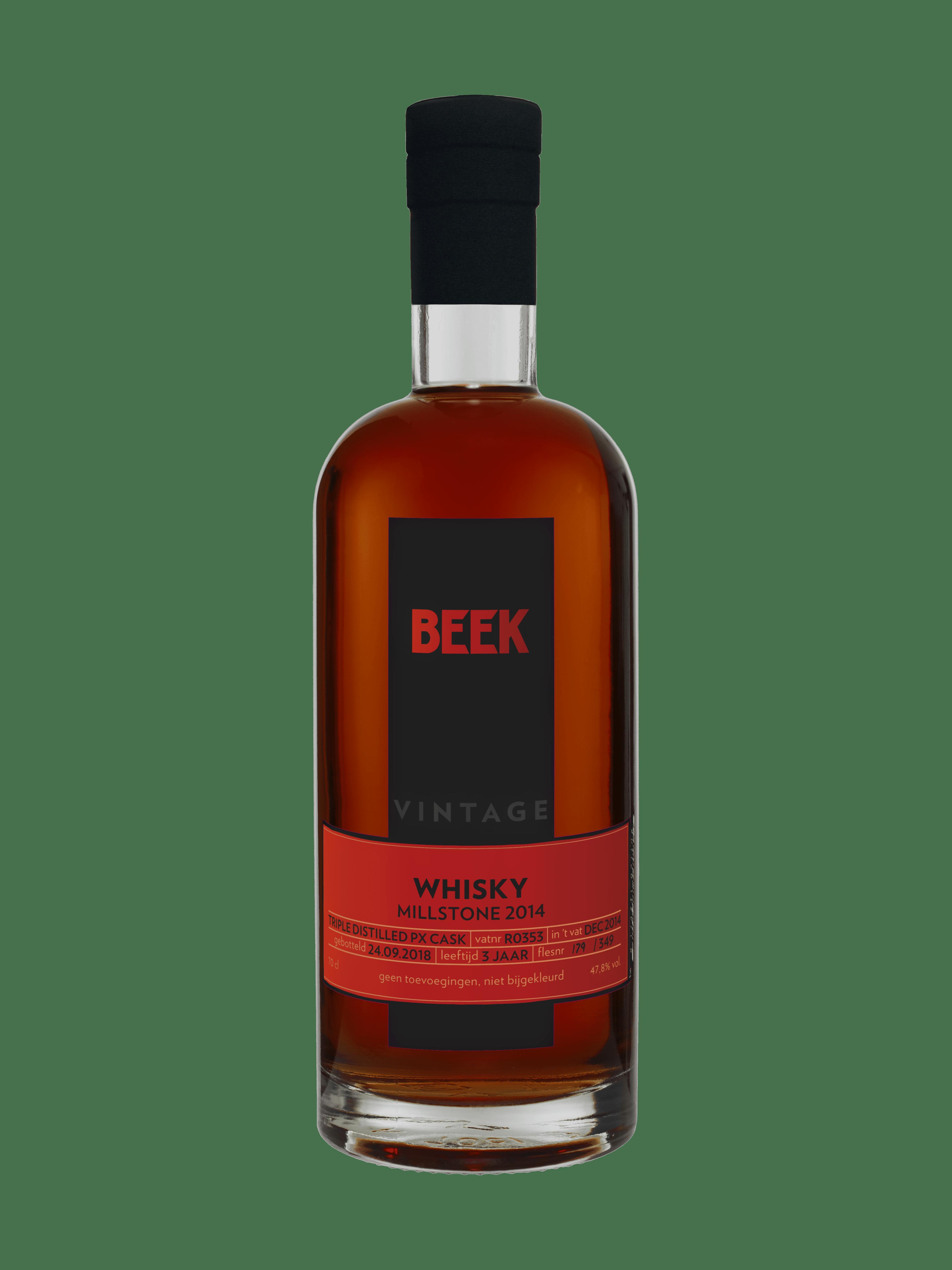 BEEK Vintage Whisky Millstone 2014 Triple Distilled PX