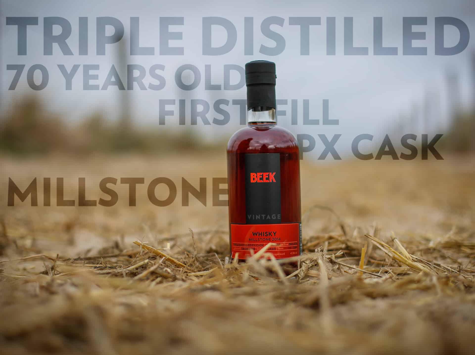 BEEK Whisky Vintage Millstone 2014 door Jesse Reij