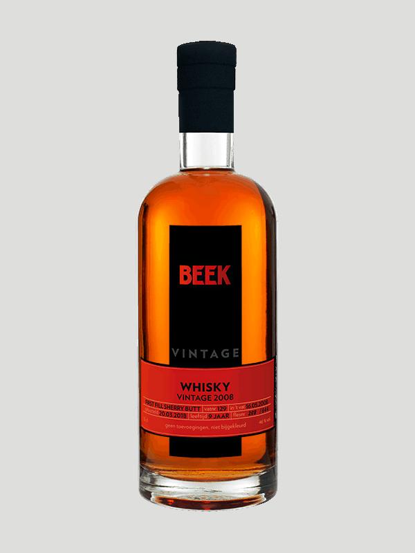 BEEK Vintage Whisky 2008
