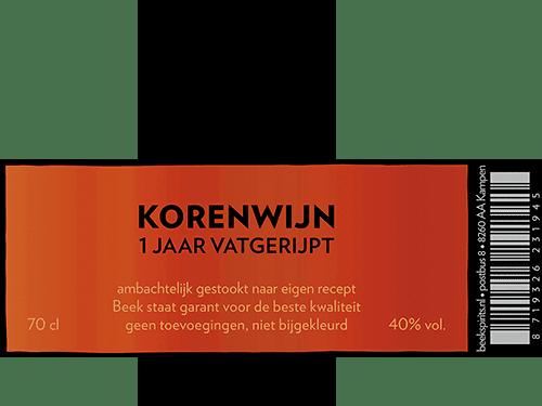 Beek_etiket_korenwijn