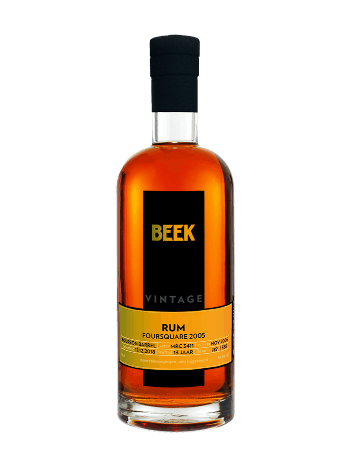 BEEK Vintage Rum Foursquare 2005