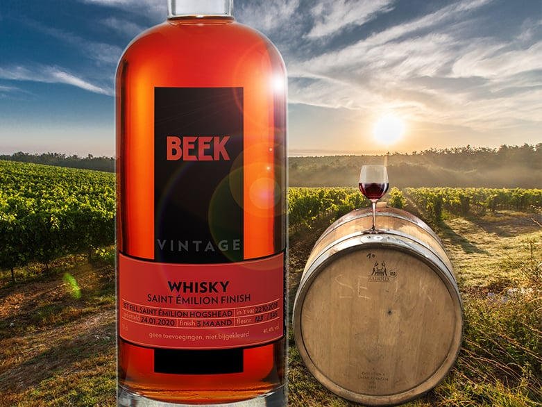Beek Vintage Whisky St. Emilion Finish