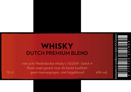 Beek Whisky Dutch Premium Blend batch 4