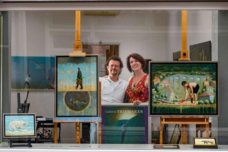 Galerie Tripmaker Kampen, foto door Freddy Schinkel