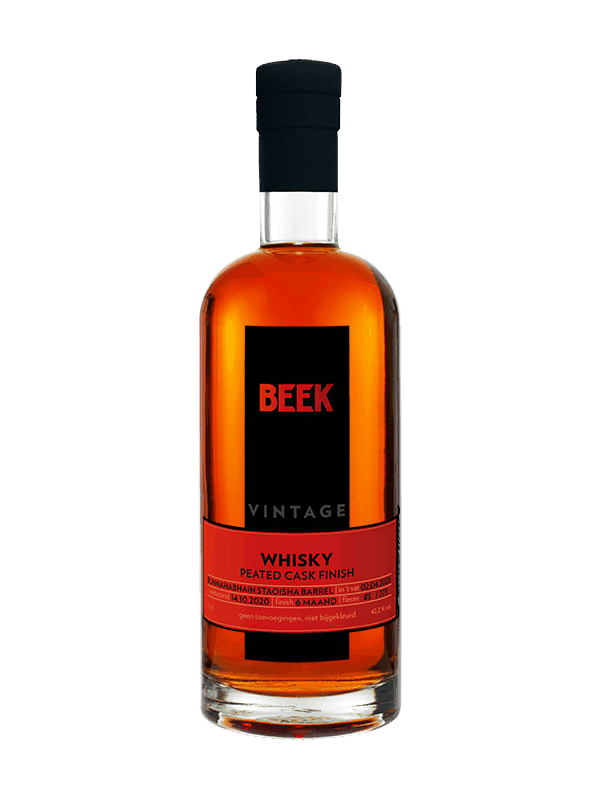 BEEK Whisky Vintage Peated Cask finish