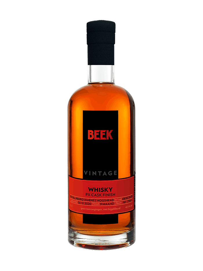 BEEK Vintage Whisky PX Cask Finish 2020