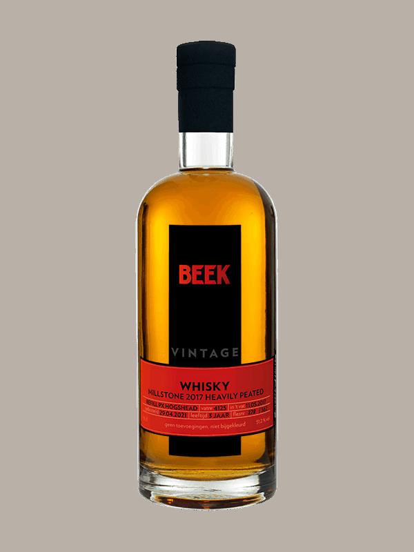 BEEK Whisky Vintage Millstone 2017 heavily peated PX