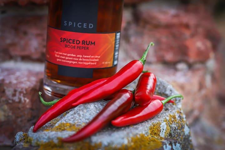 BEEK Spiced Rum met rode peper door Jesse Reij